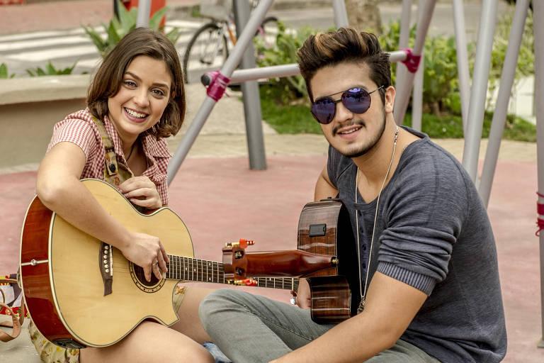 Luan Santana e Mari (Maria Luiza) em 'Malhação - Sonhos'