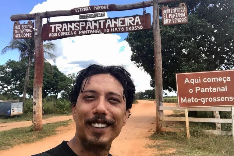 Em viagem de moto, Thiago Guido visitou 6 estados e conheceu o Pantanal e a Amazônia