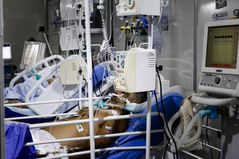 Hospital em SP libera acesso de visitantes com máscara de pano à ala de pacientes de Covid, contrariando protocolos