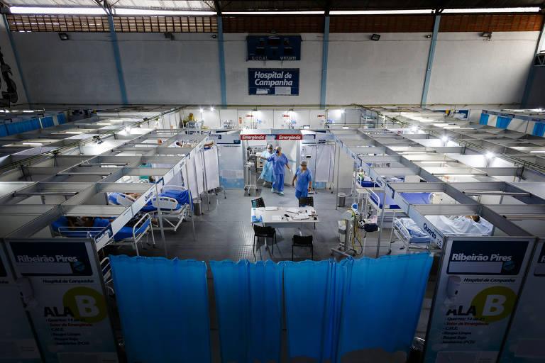 Crise na saúde em São Paulo e interior