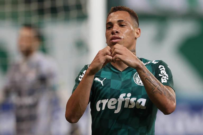 Breno Lopes ainda não atuou com estádio lotado desde que chegou ao Palmeiras, em novembro de 2020