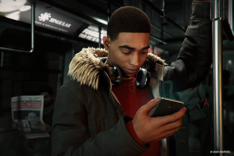 Game 'Spider Man: Miles Morales'