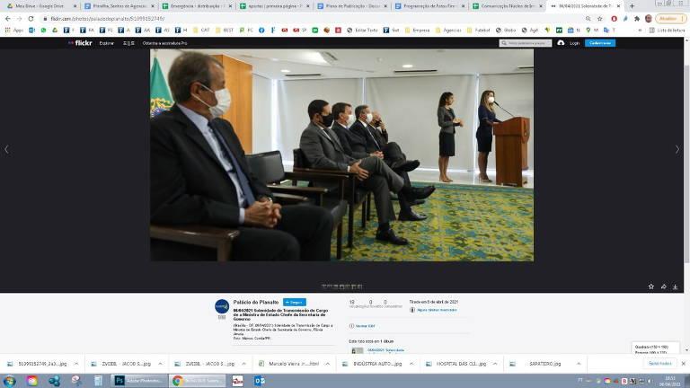 Governo Bolsonaro remove foto com Valdemar Costa Neto de divulgação de posse de ministros