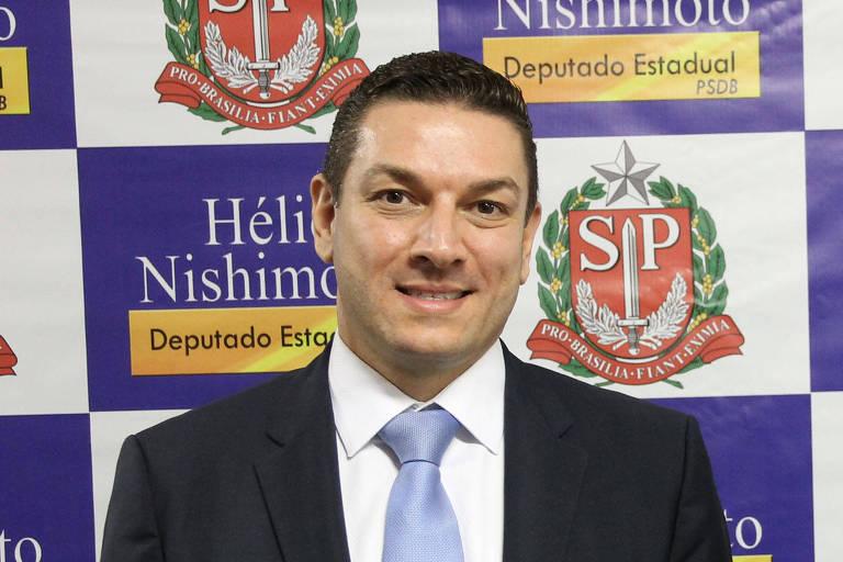 Paulo Gustavo Maiurino, novo diretor-geral da Polícia Federal, e ex-deputado Helio Nishimoto (PSDB-SP)