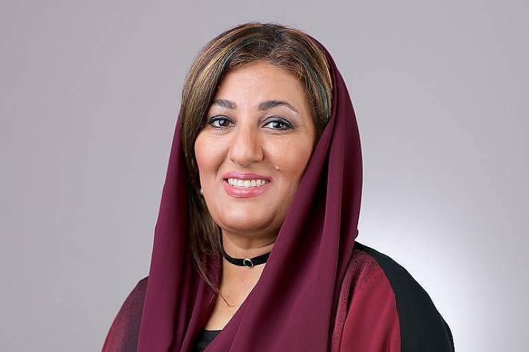 """Nujoom Al-Ghanem, dos Emirados Árabes, estará no """"Mulheres Árabes, Cinema e Poesia """""""