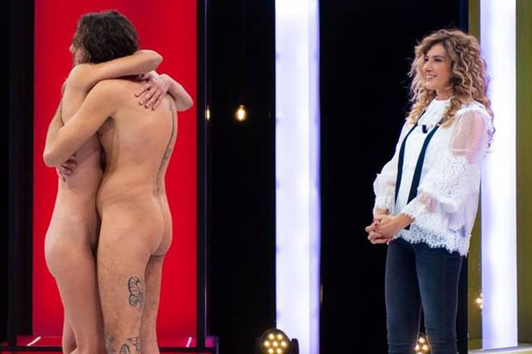 Imagens do programa Naked Attraction Itália