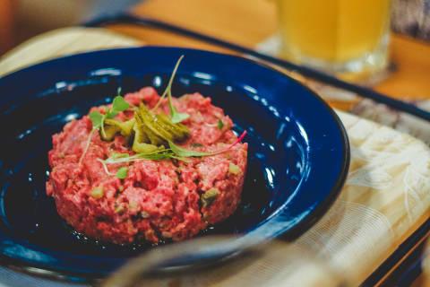 Steak tartare do Greenhouse