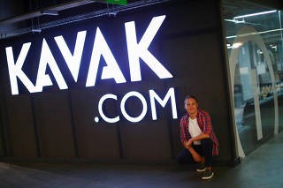 FILE PHOTO: Kavak Chief Executive Carlos Garcia poses for a photo at used autos platform Kavak in Mexico City