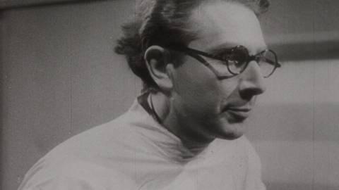 Cena de 'Zimba', de Joel Pizzin. O filme parte de um vasto material inédito, que cobre meio século de performances, teleteatros e entrevistas de Zbigniew Ziembinski antes e depois de fugir da Polônia, às vésperas da invasão de Varsóvia