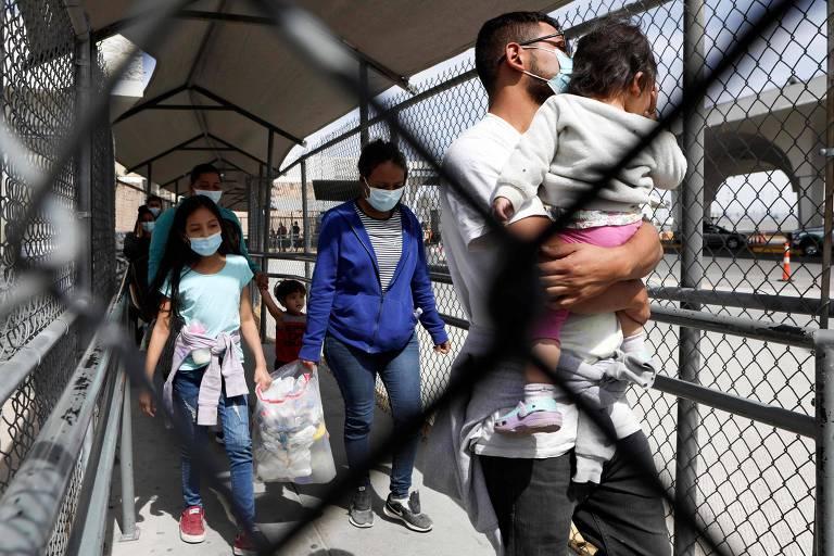 O drama da migração centro-americana