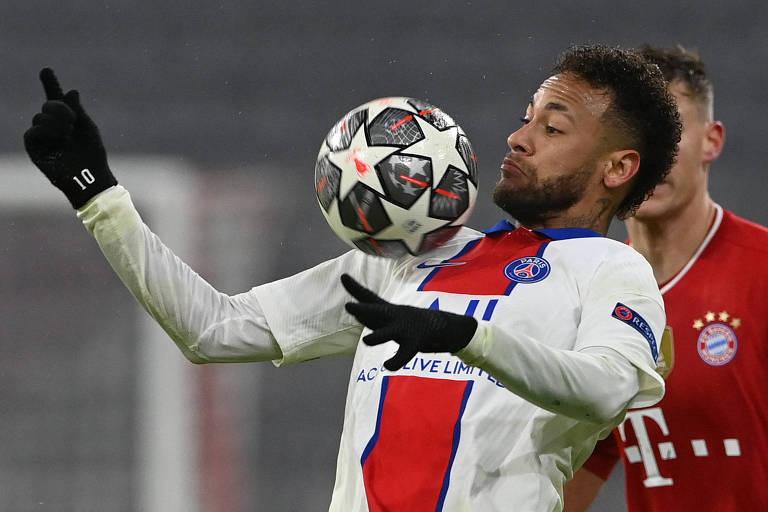 Neymar nem precisa ser o melhor, bastaria jogar sem fricotes como fez contra o Bayern