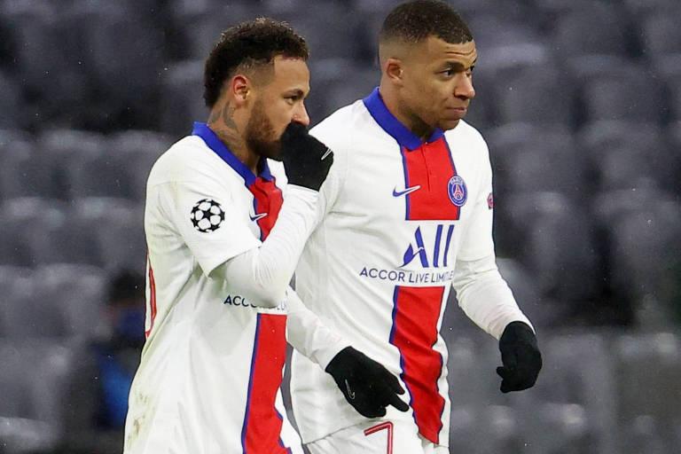 Neymar e Mbappé são as principais armas do PSG para retornar à final europeia