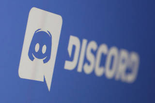 Discord app logo is seen displayed in this illustration taken photo