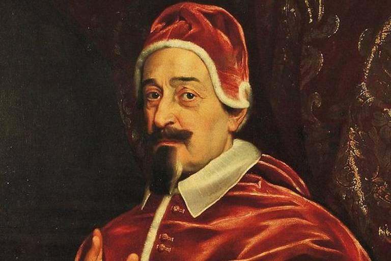 O papa Alexandre 7º decretou medidas sanitárias que, para pesquisadores, contribuíram para que a letalidade de uma peste no século 17 fosse muito menor