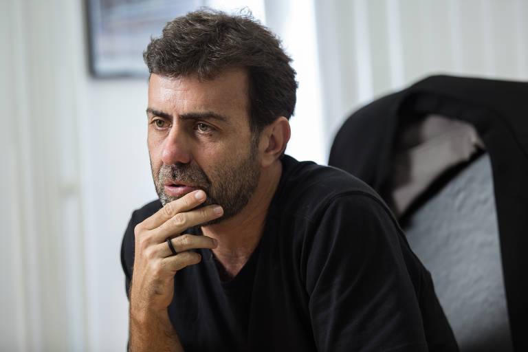 Este é o deputado federal Marcelo Freixo