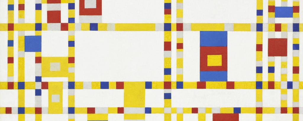 'Broadway Boogie Woogie', tela de Piet Mondrian