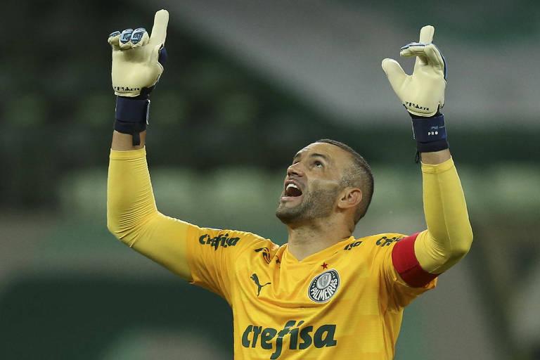 Weverton é o principal goleiro do futebol brasileiro e seria titular de qualquer time do mundo