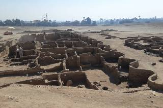 EGYPT-LUXOR-ARCHEOLOGICAL DISCOVERY