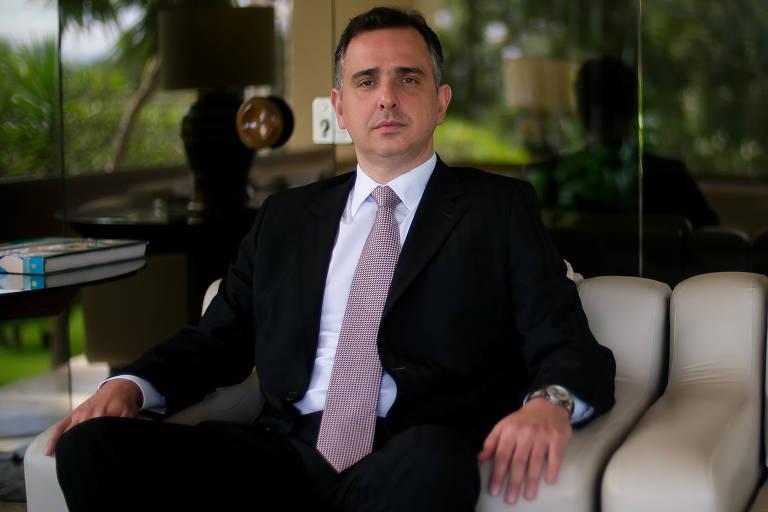 Este é Rodrigo Pacheco