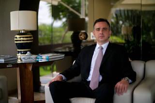 O presidente do Senado Rodrigo Pacheco