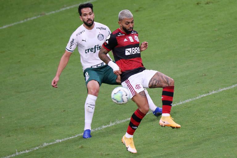 Flamengo e Palmeiras alimentam rivalidade na Supercopa do Brasil