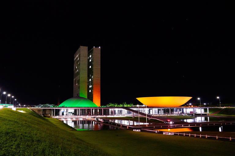 O prédio do Congresso Nacional