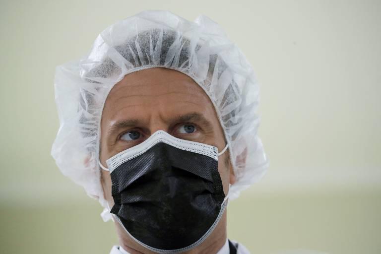 Cenas da pandemia na França