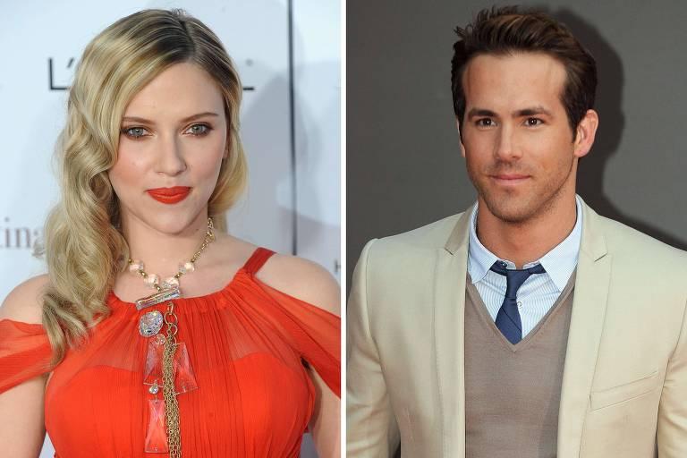 Ryan Reynolds se recusa a contracenar com a ex Scarlett Johansson