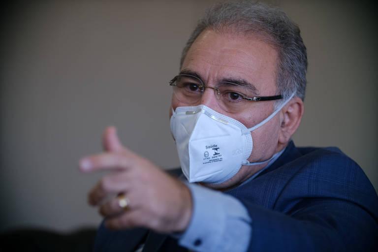 Vacinação em massa da população é uma bandeira do novo ministro da Saúde, Marcelo Queiroga