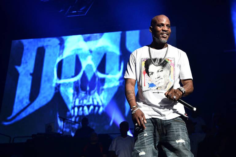 O rapper DMX em show em junho de 2019