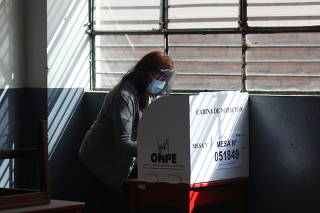Presidential and parliamentary elections in Peru