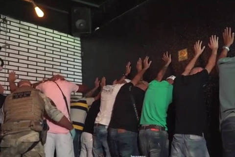 Fiscalização acaba com festa clandestina no Tatuapé, zona leste de SP.Foto:Reprodução