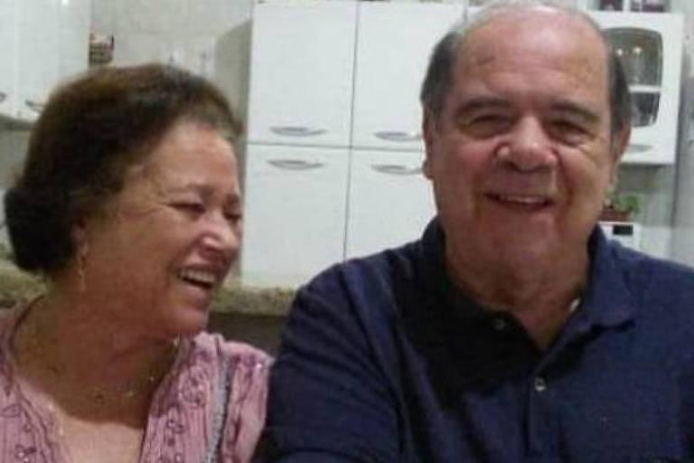 Imagem mostra casal que morreu de Covid em Santa Cruz do Rio Pardo