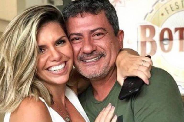 Viúva de Tom Veiga publica vídeo antigo para negar acusação de agressão