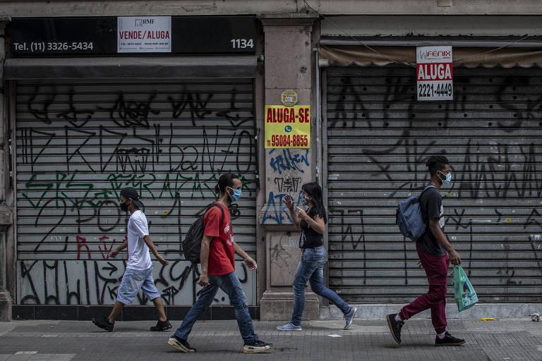 Com piora da pandemia, bancos traçam cenário mais pessimista para a economia