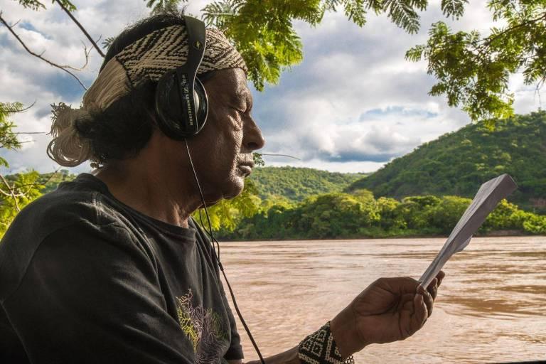 Ailton Krenak em Falas da Terra - Globo