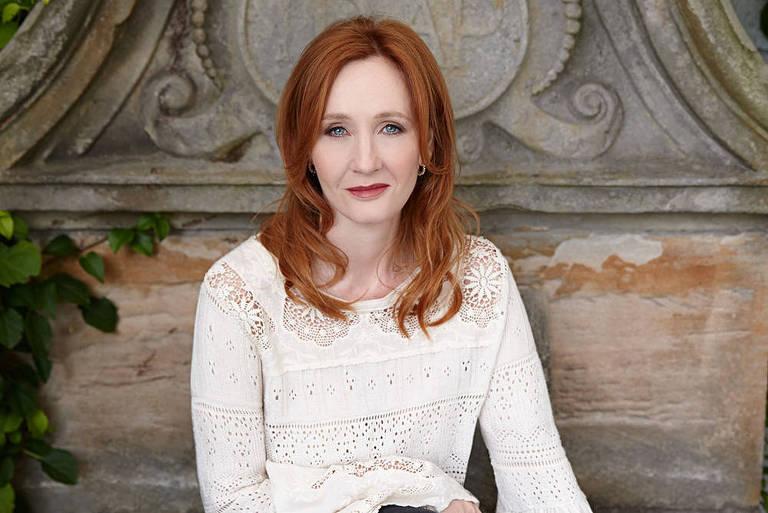 Imagens da escritora J.K. Rowling