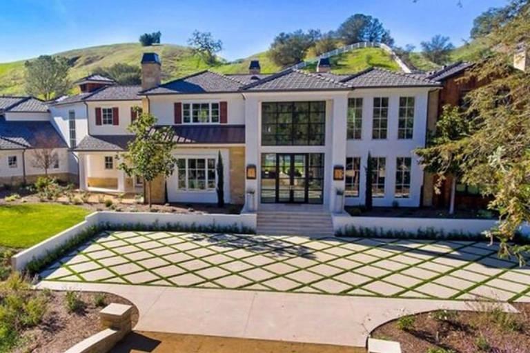 Nova mansão da Madonna  em  Hidden Hills, Los Angeles