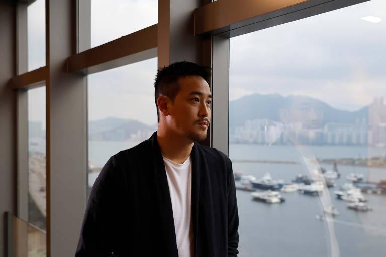 """Diretor do filme """"Better Days"""", Derek Tsang, posa para foto durante entrevista em Hong Kong"""