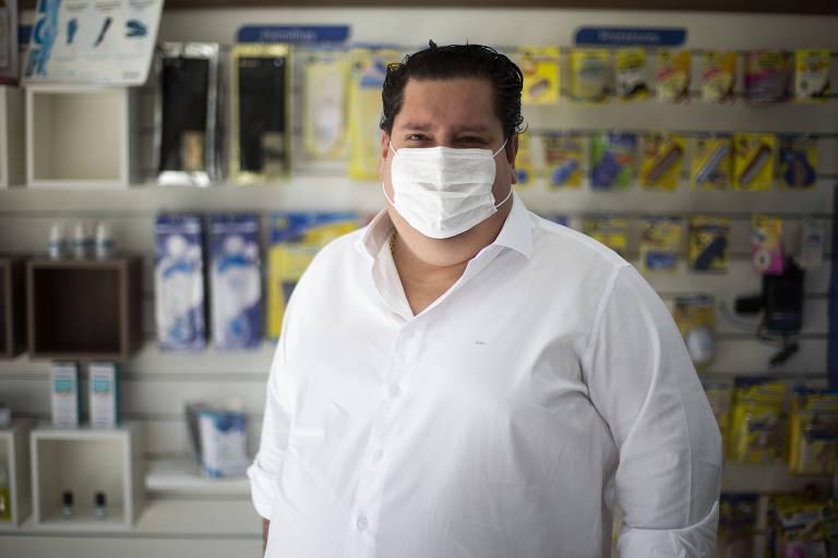 Presidente da Doctor Feet, Jonas Bechelli; empresário precisará ir à Justiça para negociar contratos de aluguéis com shoppings