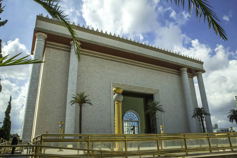 O Templo de Salomão da Igreja Universal do Reino de Deus, em São Paulo