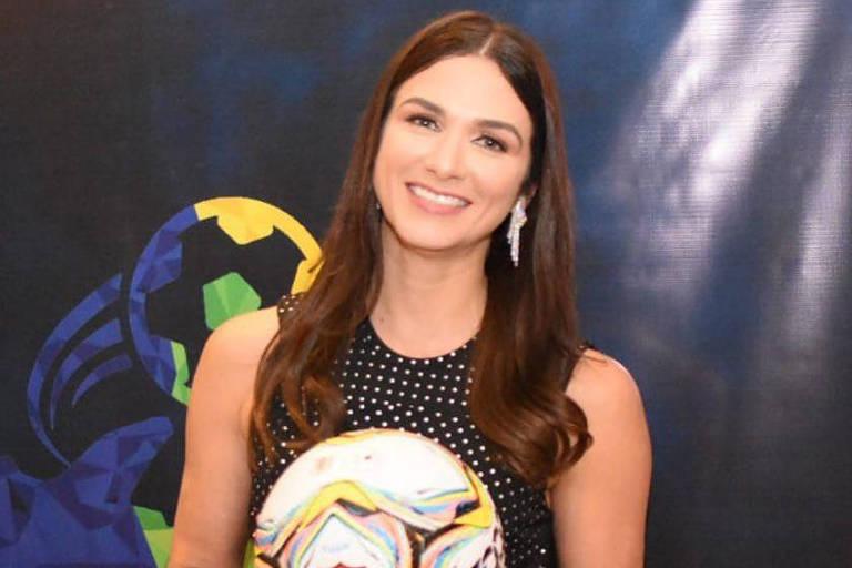Michelle Ramalho, presidente da Federação Paraibana de Futebol
