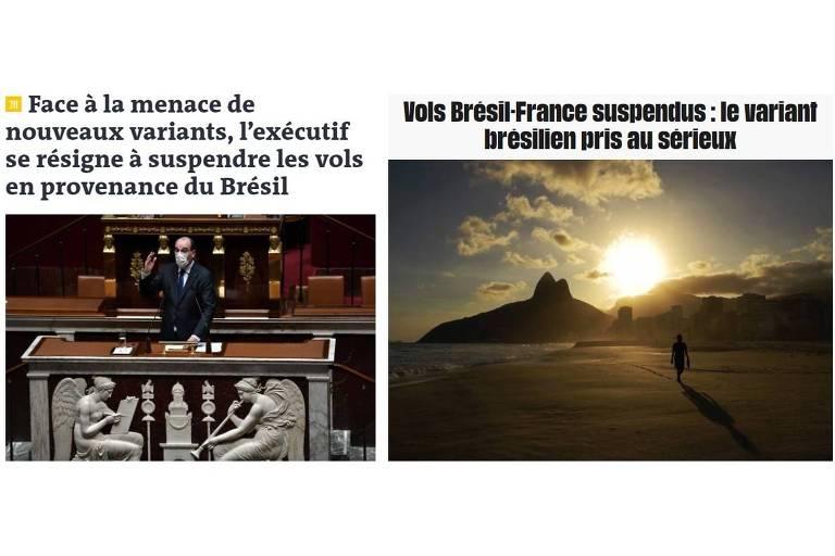 Variante ocupa manchetes na França e leva à suspensão de voos