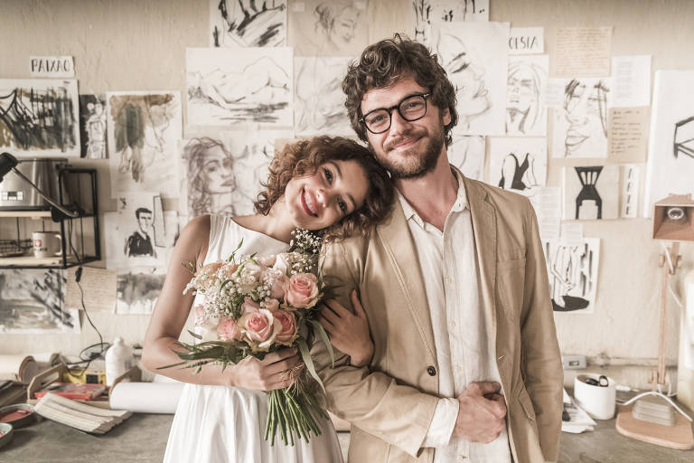 Casamento de Paulo (Emilio Dantas) e Maria Alice (Sophie Charlotte)