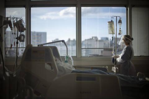 Hospitalizações por Covid-19 em SP caem 90% em relação ao pico da epidemia