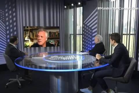 Pedro Bial concede entrevista ao Manhattan Connection