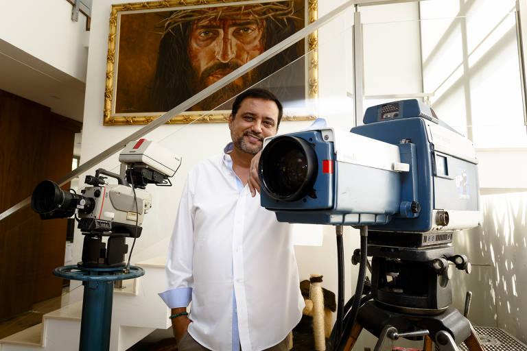 Imagens do apresentador Geraldo Luís
