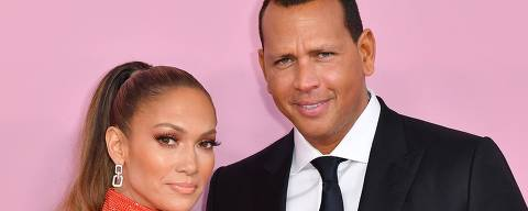 (FILES) In this file photo taken on June 3, 2019 CFDA Fashion Icon Award recipient US singer Jennifer Lopez and fiance former baseball pro Alex Rodriguez arrive for the 2019 CFDA fashion awards at the Brooklyn Museum in New York City. - Singer Jennifer Lopez and former New York Yankees baseball star Alex Rodriguez said Saturday, March 13, they were