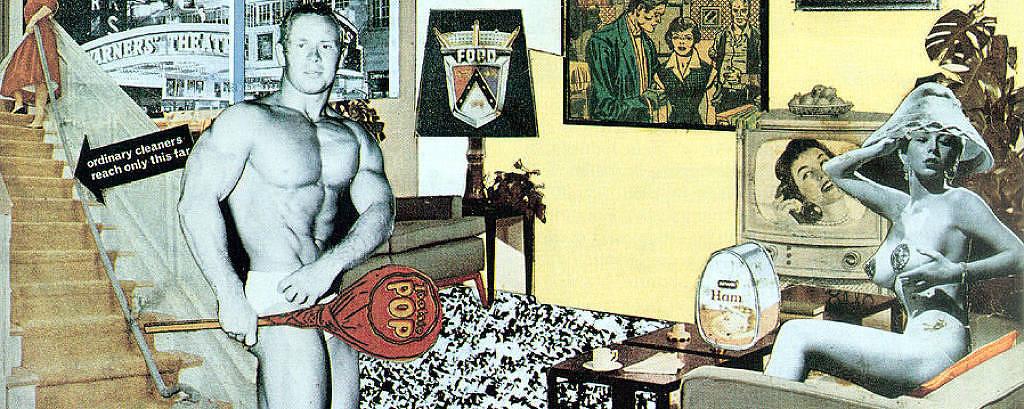 Colagem de Richard Hamilton dos anos 1950