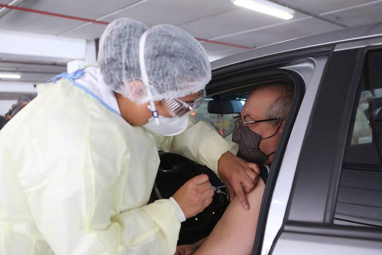 Incerteza marca futuras etapas de vacinação contra Covid em São Paulo